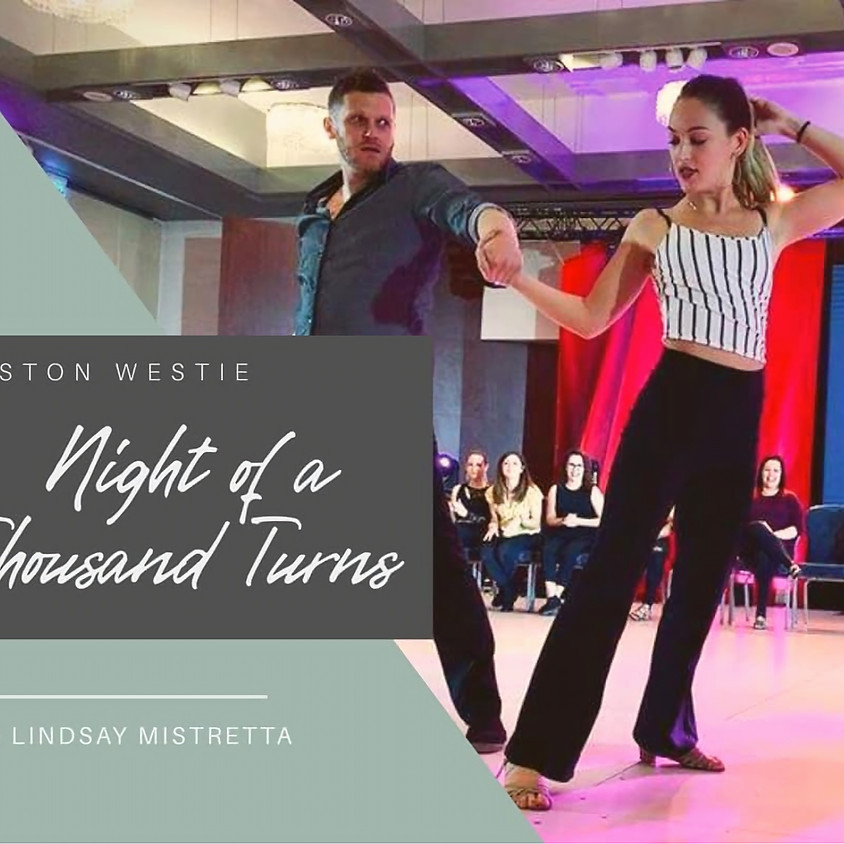 CANCELLED: Saturday Dance with Lindsay Mistretta & Boston Westie