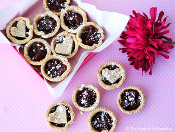 Mini Whole Wheat and Flax Strawberry Jam Cups