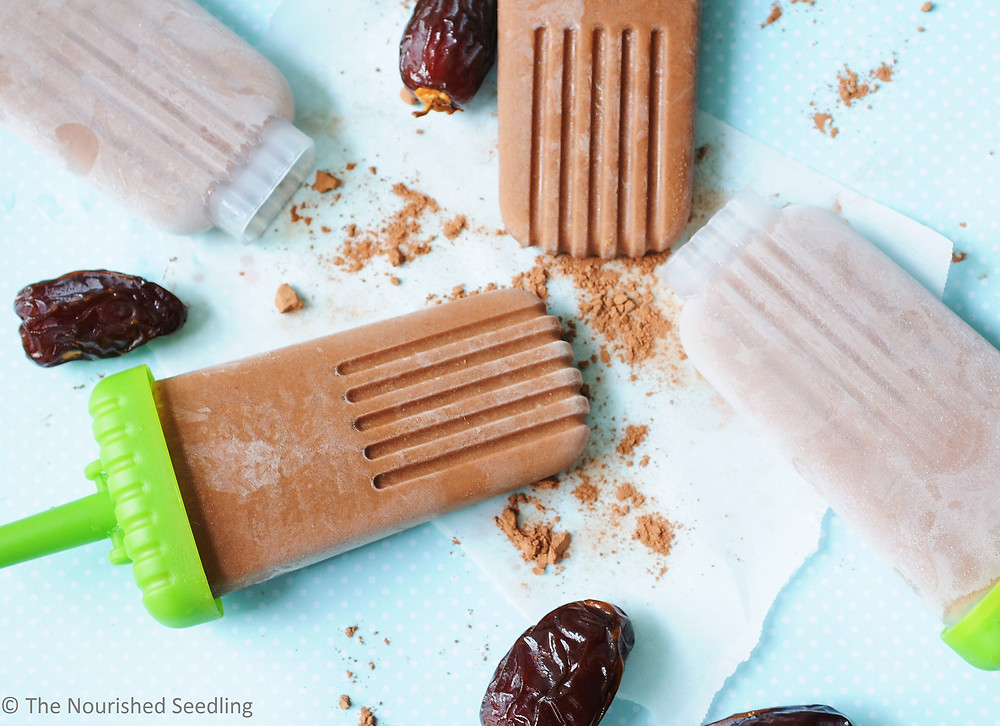 vegan date and coconut fudgcicles