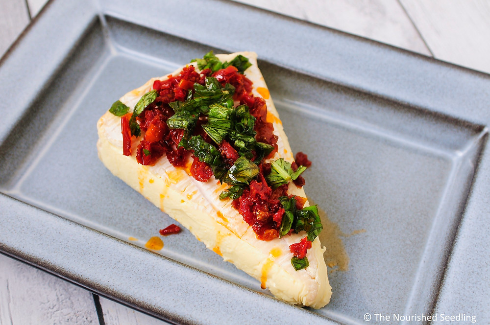 sun-dried-tomato-and-basil-baked-brie