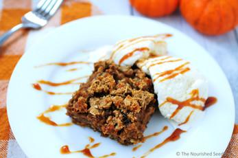 Pumpkin and Date Oatmeal Streusel