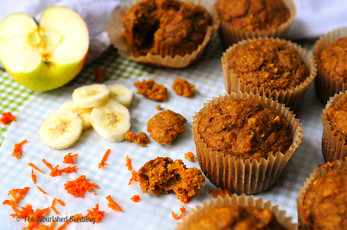 ABC (Applesauce, Banana and Carrot) Muffins