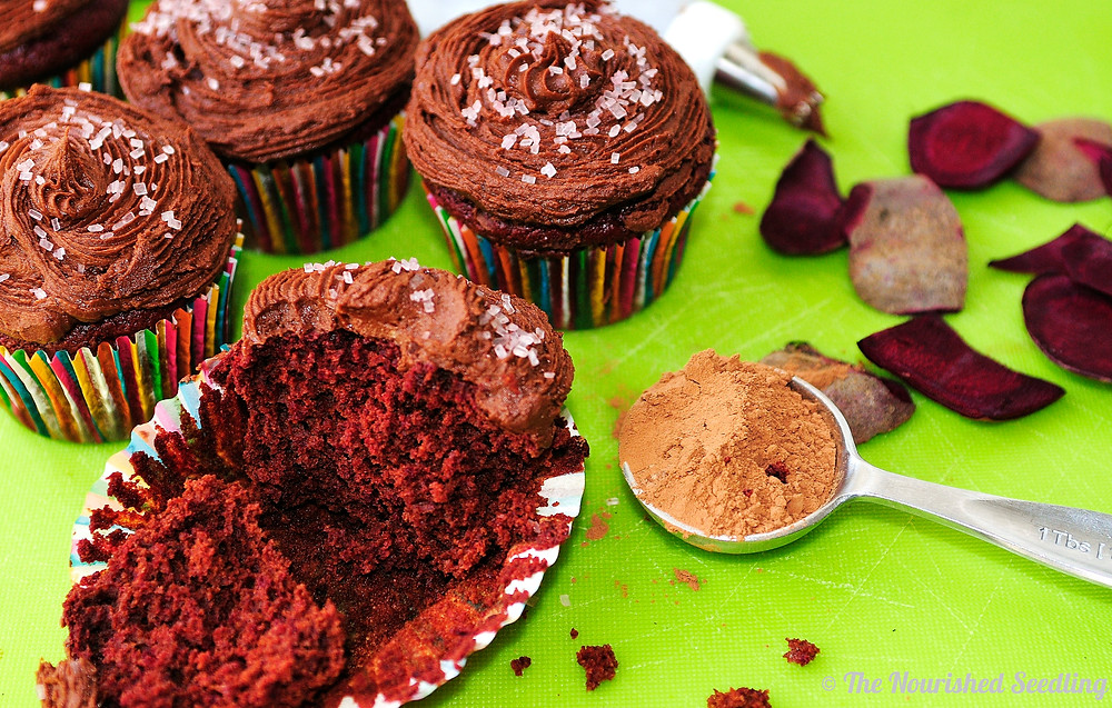 healthy-natural-dye-free-red-velvet-chocolate-cupcakes