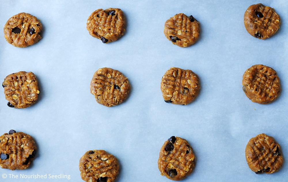 peanut butter date cookies