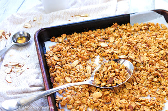 Almond Butter and Maple Granola