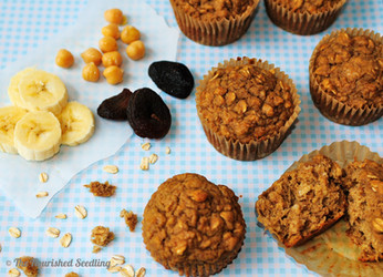 Protein Packed Fruity Muffins