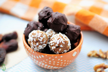 Easy Apricot and Coconut Healthy Truffles