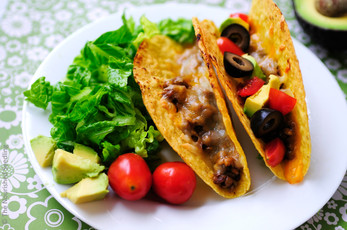 Baked Lentil Tacos