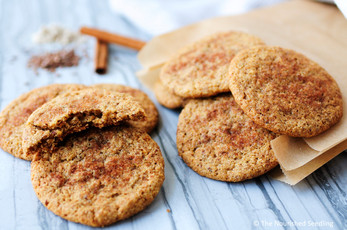 Almond and Flax Cinnamon Sugar Cookies