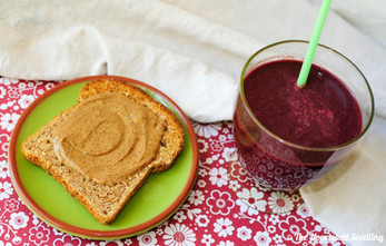 Power Greens and Beet Smoothie - Meal Plan Recipe