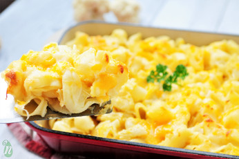 Butternut Squash and Cauliflower Macaroni and Cheese