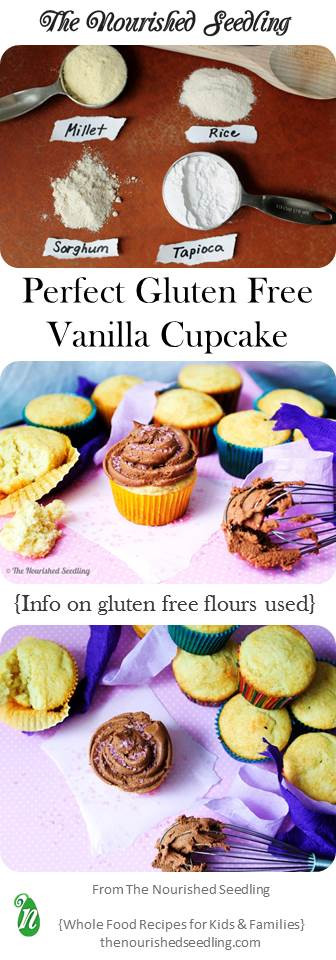 basic gluten free vanilla cupcake