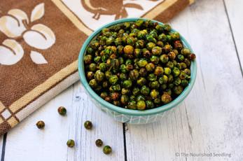 Crunchy Roasted Peas