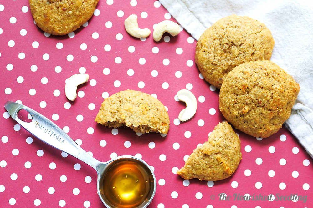 honey cashew cookies