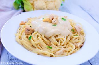 No Cream Creamy Cashew Pasta