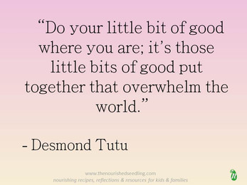 Do A Little Bit of Good Wherever You Are