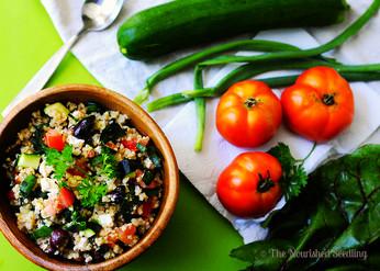 Summer Garden Millet Salad