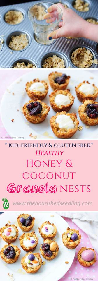 honey granola nests