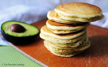 Whole Wheat Avocado Pancakes