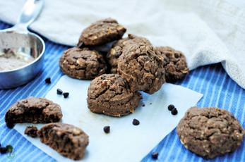 Gluten Free Teff Flour Chocolate Chip Cookies