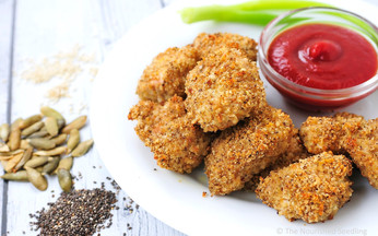 Super Seed Healthy Chicken Nuggets