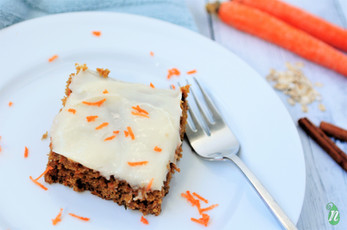 Whole Grain Carrot Spice Cake