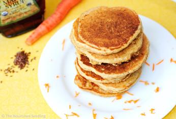 Crazy Carrot Pancakes