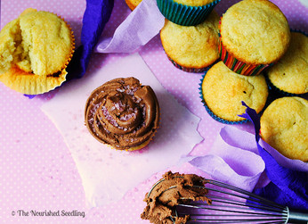 Perfect Gluten Free Vanilla Cupcake with Chocolate Frosting