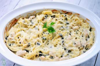 Creamy Swiss Chard Pasta