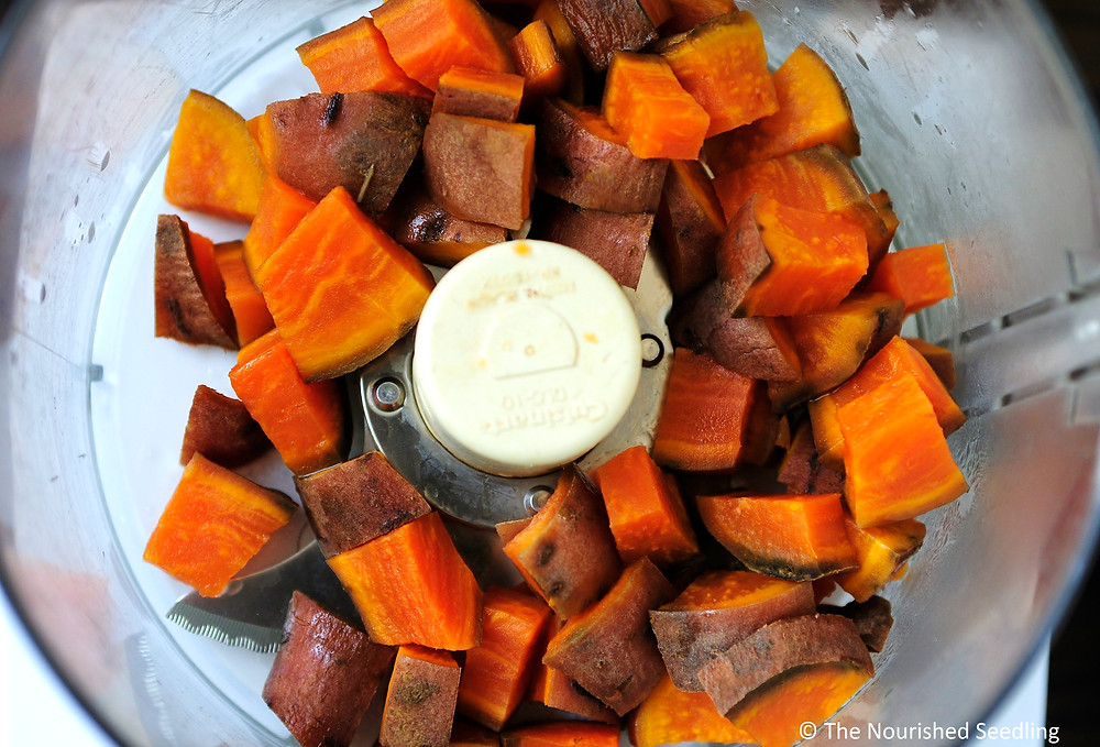 whole wheat sweet potato healthy cornbread