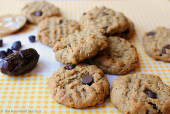 Peanut Butter and Date Cookies