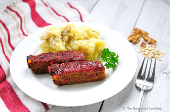 Tasty Turkey Walnut Meatloaf