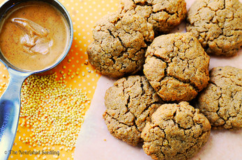 Vegan Peanut Butter and Millet Cookies