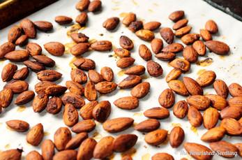 Toasty Tamari Roasted Almonds