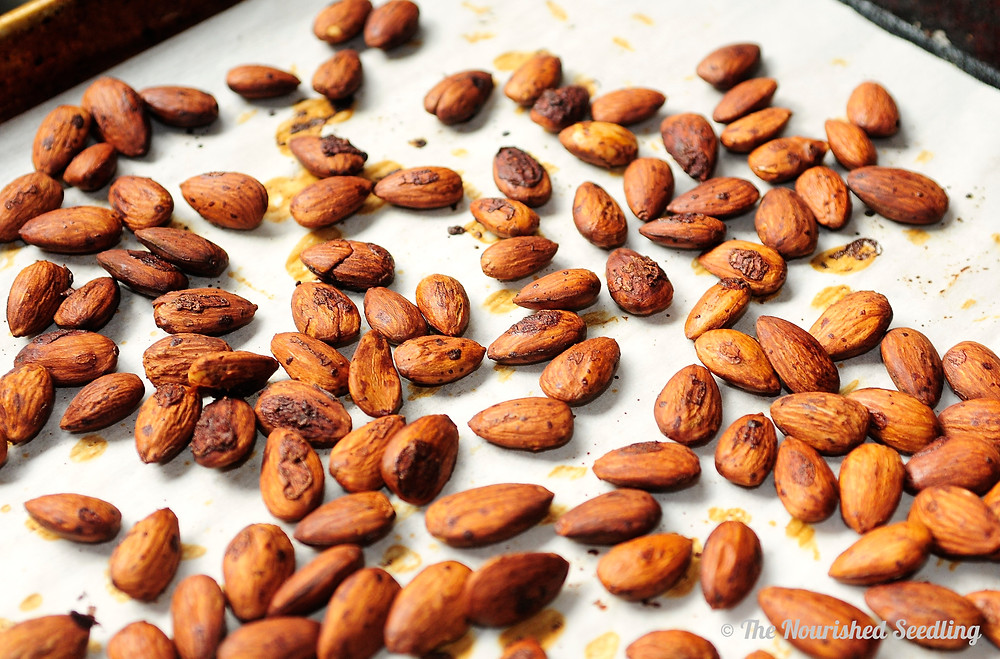 gluten free roasted tamari almonds