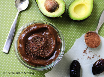 Amazing Avocado Date Pudding