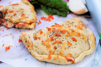 Whole Wheat Swiss Chard and Carrot Calzones