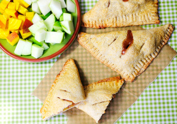 Apple, Pear and Golden Beet Turnovers
