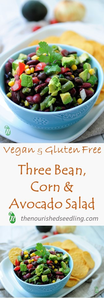 Pinterest recipe for bean salad