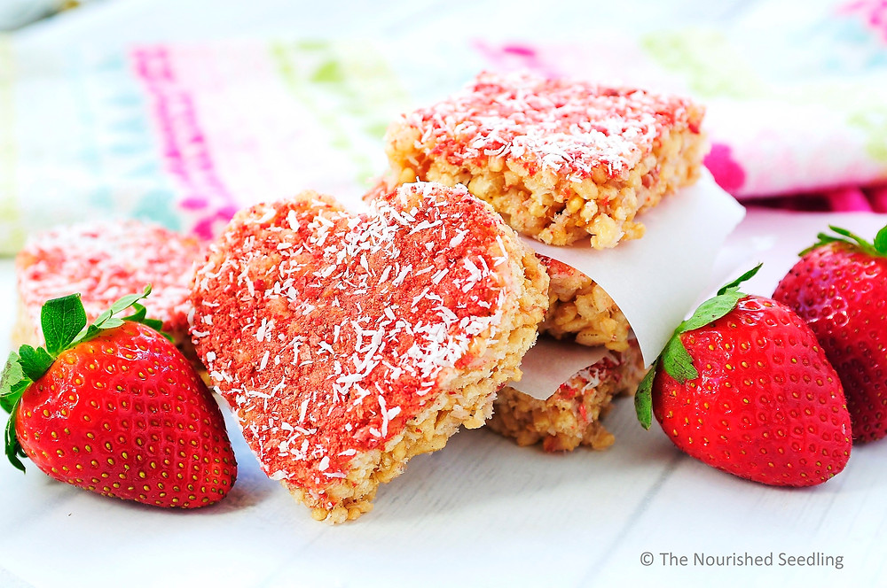 strawberry-rice-crispy-treats