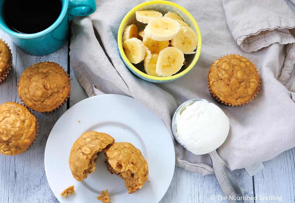 greek-yogurt-banana-oat-muffins