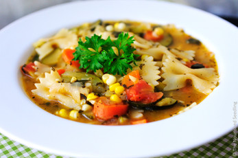 Easy Vegetable and Pasta Soup