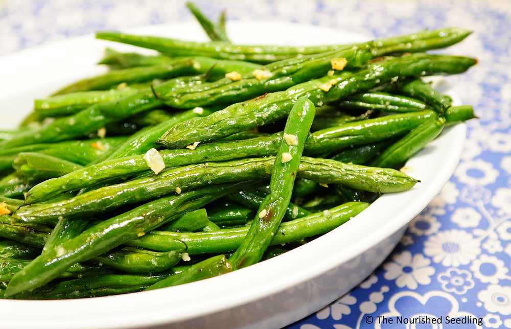healthy-oven-roasted-garlic-green-beans