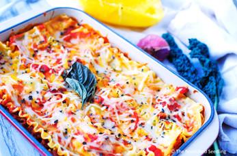 Spaghetti Squash & Kale Lasagna