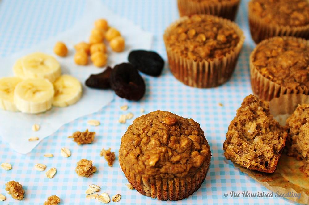 chickpea protein muffins
