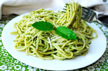 Basil and Leafy Greens Power Pesto