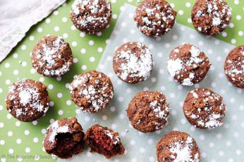 Gluten Free Coconut Flour Brownie Bites