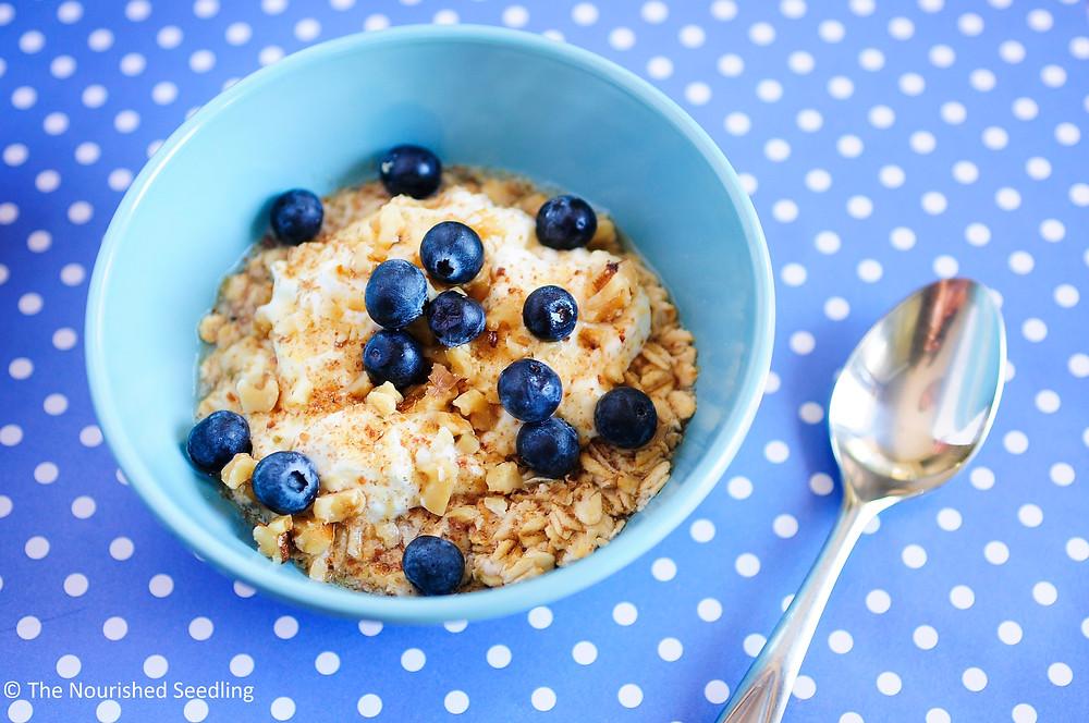 simple healthy oatmeal