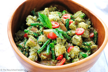 Pesto and Green Bean Potato Salad