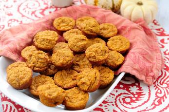 Gluten Free Spiced Squash Muffin Bites